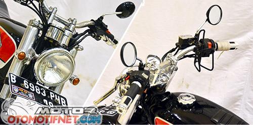 [Modifikasi] Yamaha Scorpio Ini Jadi CB100 Lawas